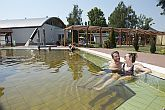 Thermal bath on the bank of Tisza in Tiszakécske built-in with Barack Thermal Hotel