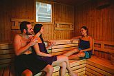 Finnish sauna in Elixir Medical Wellness Hotel