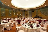 Gala dinner in Danubius Health Spa Resort Helia in Budapest  - spa wellness and thermal hotel Helia -  Budapest Hungary