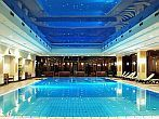 Swimming pool of Grand Hotel Margitsziget in Budapest